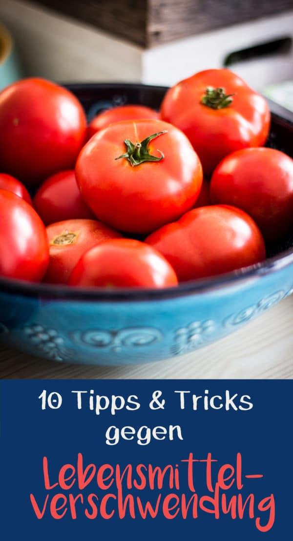 Lebensmittelverschwendung reduzieren vermindern verhindern Tipps Tricks Foodsharing EcoYou