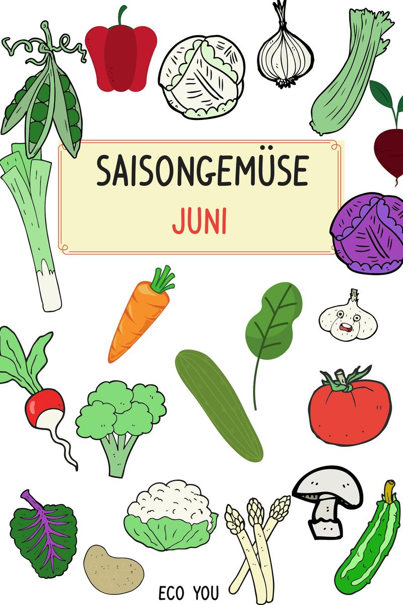 Saisongemüse Juni