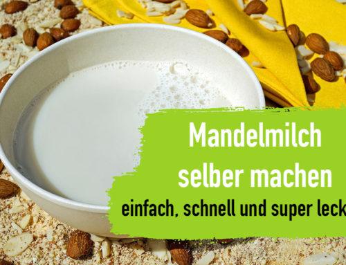 Mandelmilch selber machen – einfach, schnell und super lecker!