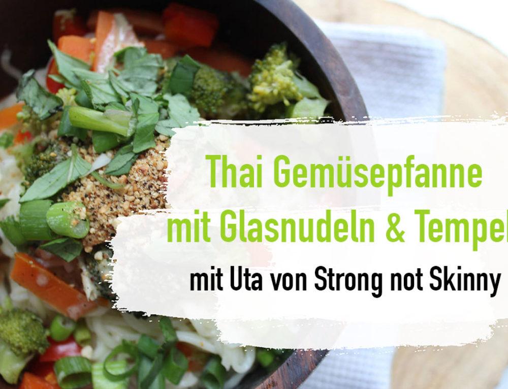 Super Lecker! Cremige Thai-Gemüsepfanne mit Tempeh – Tempeh Rezept!
