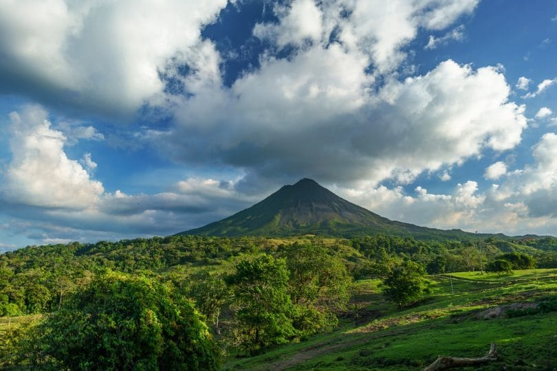 Einwegplastik Costa Rica Vulkan Plastik Natur