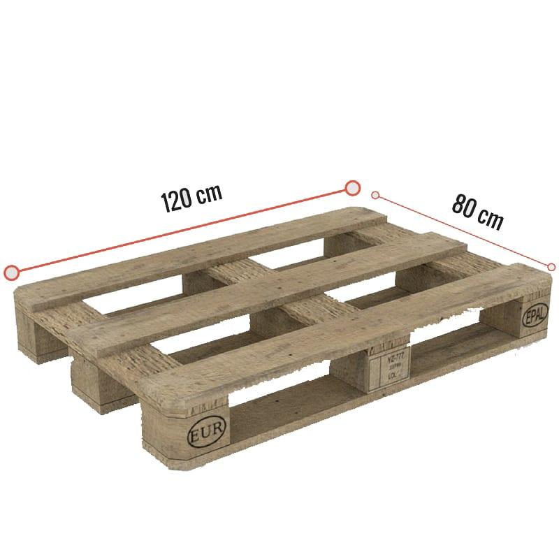 Bett aus Paletten Erfahrung - DIY Anleitung für Palettenbett -Europalette- Rücken - Paletten Maße wie groß ist eine Europallete wieviel Paletten brauche ich für mein Palettenbett aus Holz DIY ANleitung
