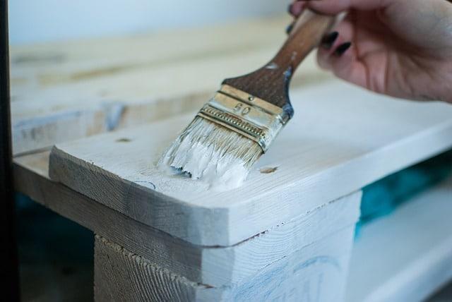 Europalettenbett - Bett aus Europaletten Bett aus Paletten - Palettenbett - Paletten Streichen oder Nicht? DIY Anleitung