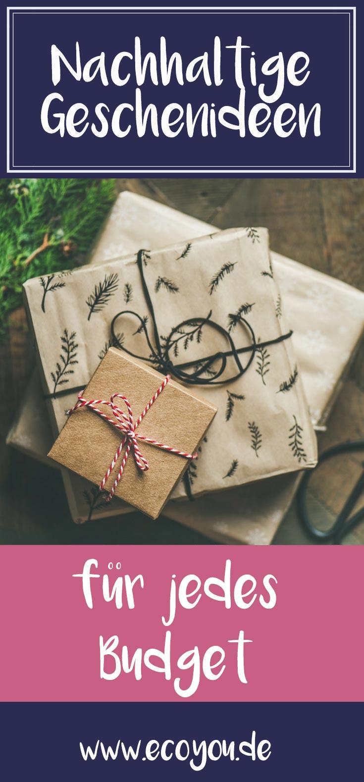 Nachhaltige & Sinnvolle Geschenke über die sich Jeder freut I EcoYou