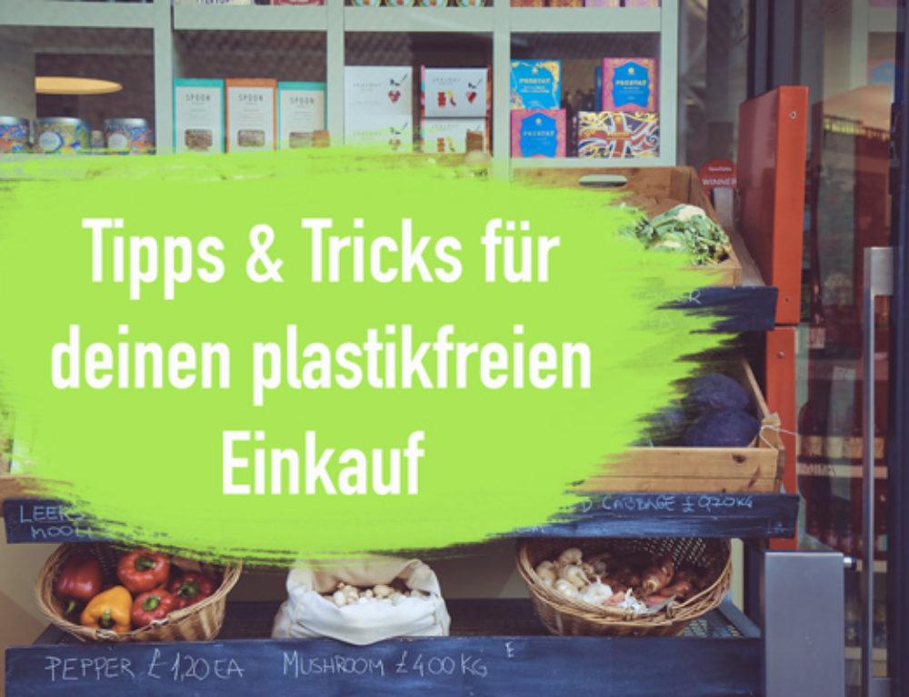Plastikfrei Einkaufen – Natürlich und nachhaltig einkaufen  I EcoYou