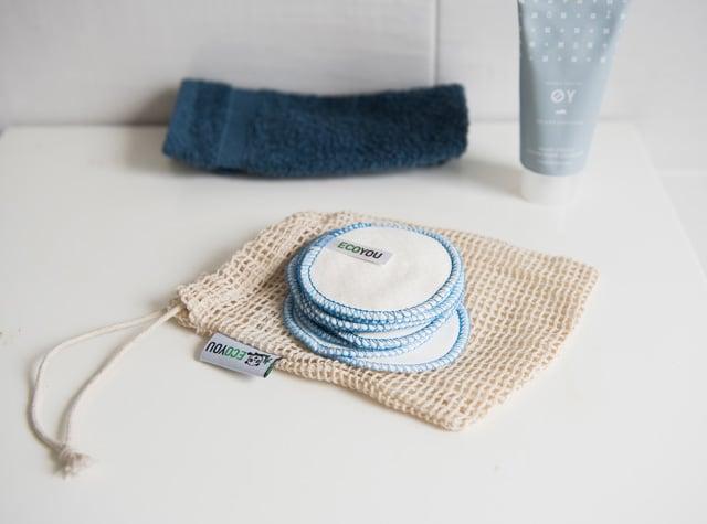 Plastikfrei Leben ohne Plastik Abschminkpads Badezimmer Umweltfreundlich Bad EcoYou Tipps Tricks