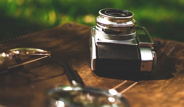 Fotos sagen mehr als 1000 Worte Fotoapparat Geschenk für Reisender Backpacker DIY
