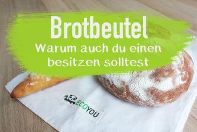 Brotbeutel aus Stoff Baumwolle Set plastikfrei einkaufen EcoYou