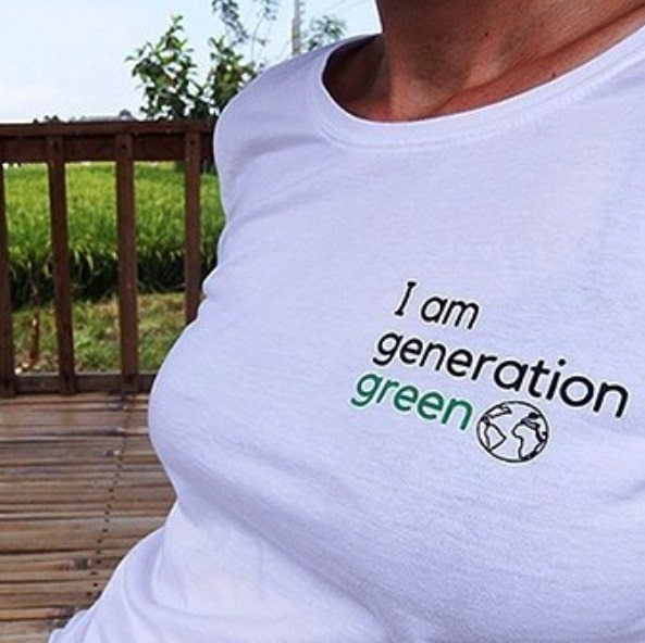 I am generation green T-Shirt - EcoYou - Zero Waste Online Shop - Zero Waste Blog