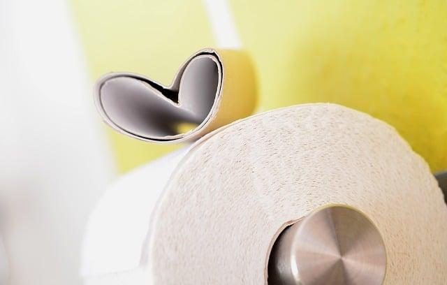 Plastikfrei Leben auch im Badezimmer - Toilettenpapier ohne Plastik - Altpapier - Unverpackt Laden Karton