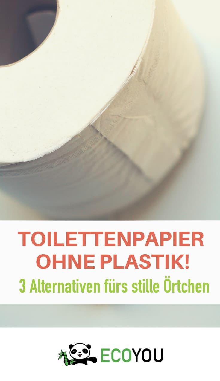 Toilettenpapier ohne Plastik Zero Waste Plastikfrei Leben ohne Plastik EcoYou
