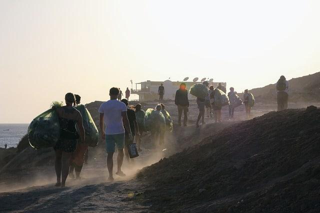 Festival Müll plastikfrei Zero Waste Leben ohne Plastik Sommer Festivalsommer Rock am Ring Dosen Southside Hurricane
