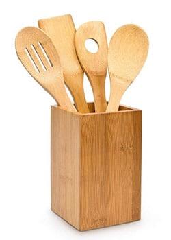 Leben ohne Plastik Einkaufen Online Küchenhelfer Bambus plastikfrei