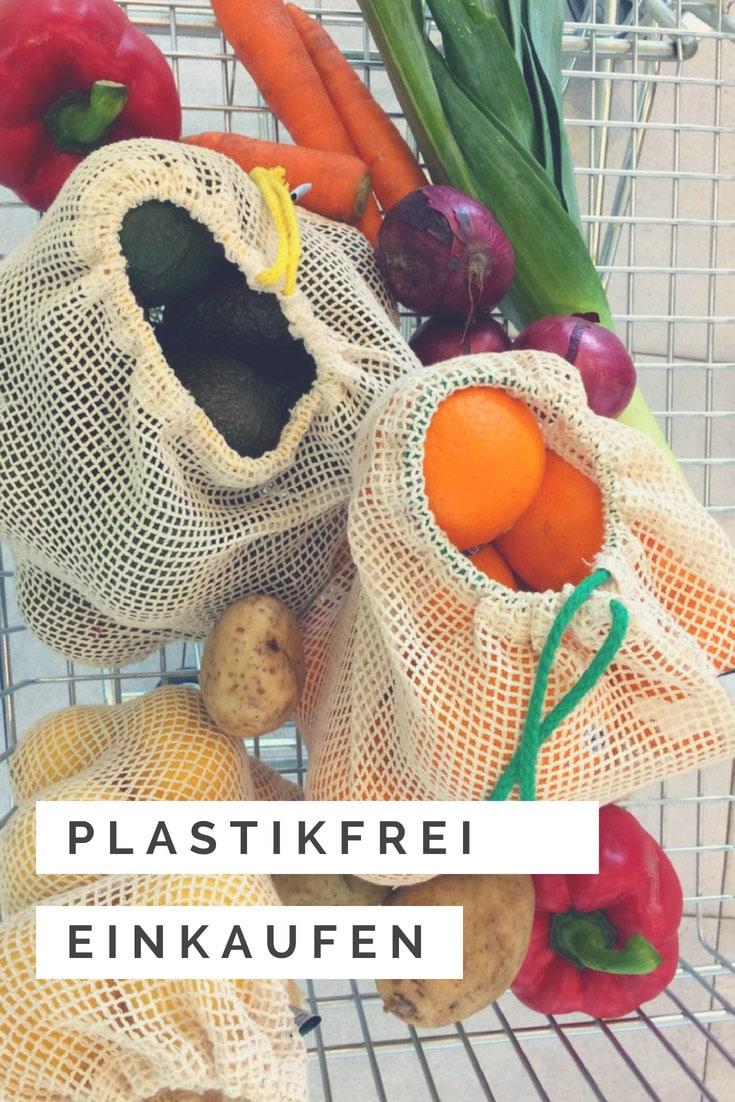 Plastikfrei Leben ohne Plastik Gemüsenetz Obstnetz Gemüsebeutel online shop Zero Waste Küche