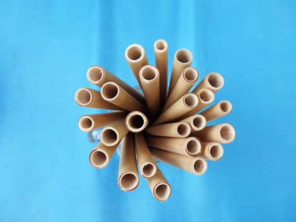 Bambus Strohhalme