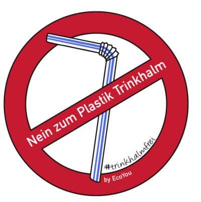 Plastiktrinkhalm verzichten Plastikfrei Leben ohne Plastik Zero Waste trinkhalmfrei