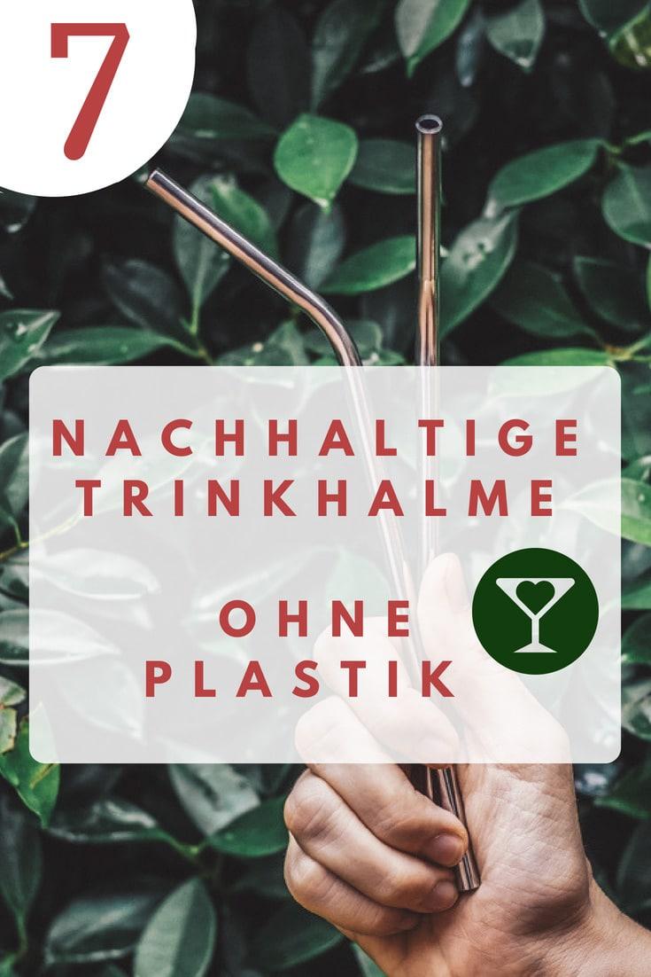 Umweltfreundliche Strohhalme ohne Plastik Zero Waste Nachhaltig Leben