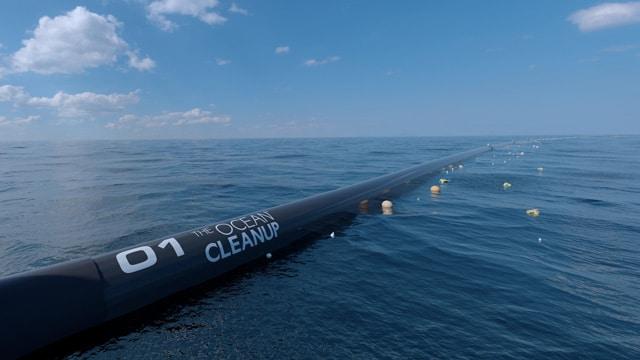 Plastik im Meer - Ozean Meersäuberung Säuberung der Meere Plastikfrei Leben ohne Plastik Boyan Slat Maschine Vorgehen Mikroplastik
