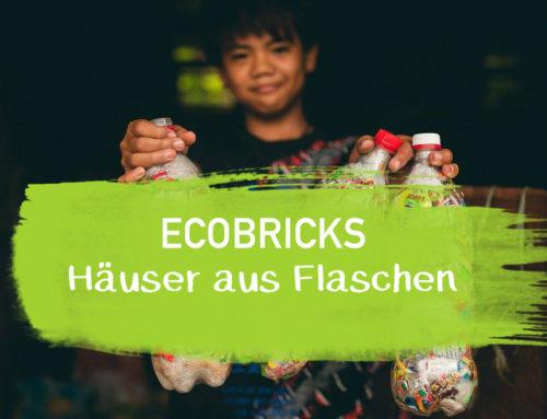 Ecobricks – Die Häuser aus Plastikflaschen