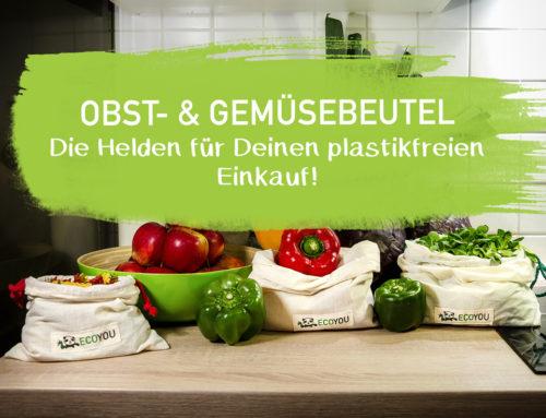 Wiederverwendbare Gemüsebeutel für deinen Plastikfrei Einkauf | EcoYou