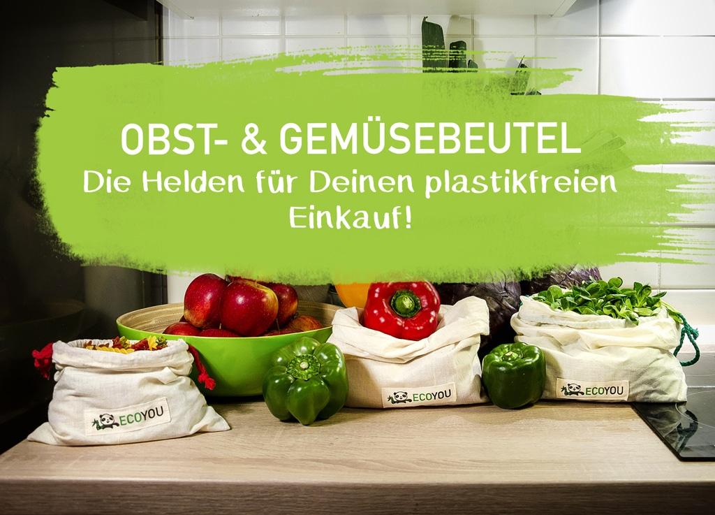 Wiederverwendbare Beutel für Obst- und Gemüse – Plastikfrei einkaufen – EcoYou – Zero Waste Online Shop