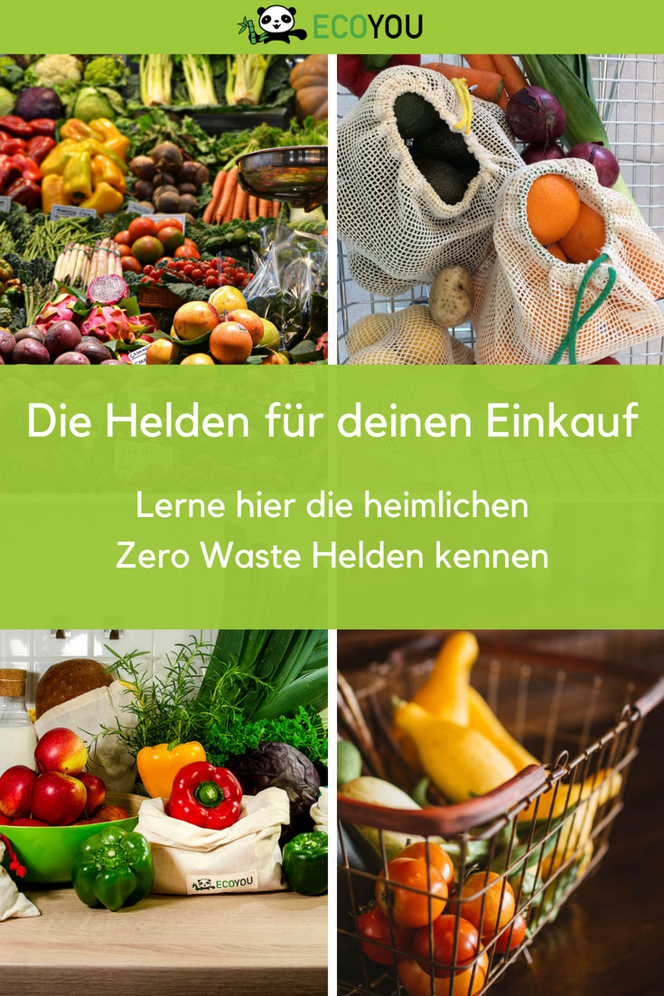 Gemüsebeutel - Zero Waste - Plastikfrei leben – Verpackungsfrei einkaufen