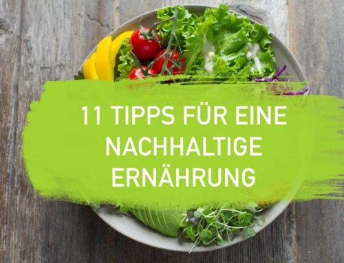Nachhaltige Ernährung – 11 Tipps für eine umweltfreundliche Ernährung I EcoYou