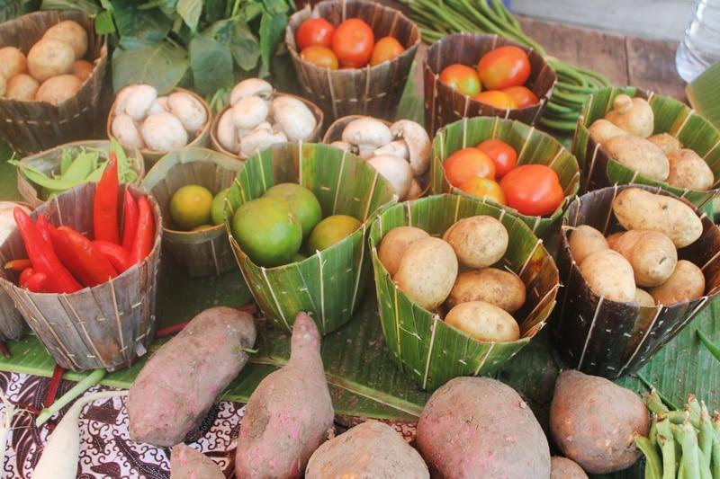 Frisches Obst und Gemüse - Gesunde und nachhaltige Ernährung