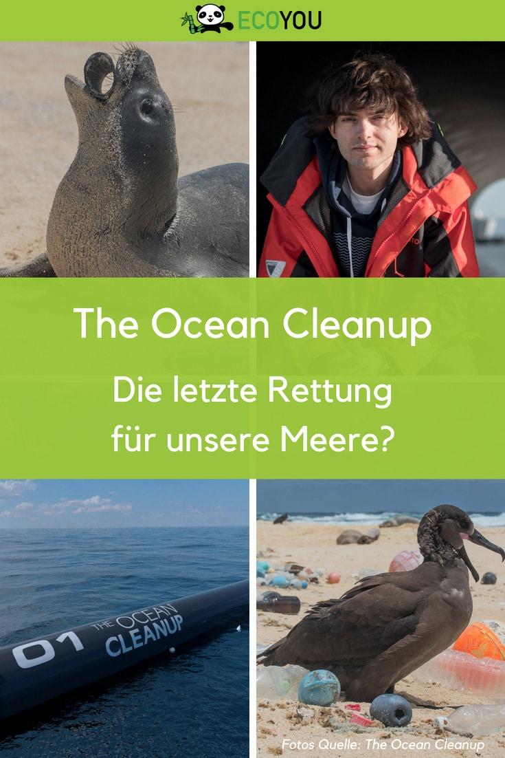 The Ocean Cleanup Plastikfrei Meer ohne Plastik leben umweltschutz nachhaltig