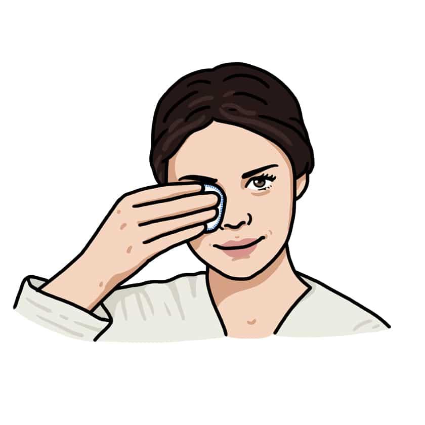 Abschminkpads waschbar Kosmetiktücher zum Wiederverwenden