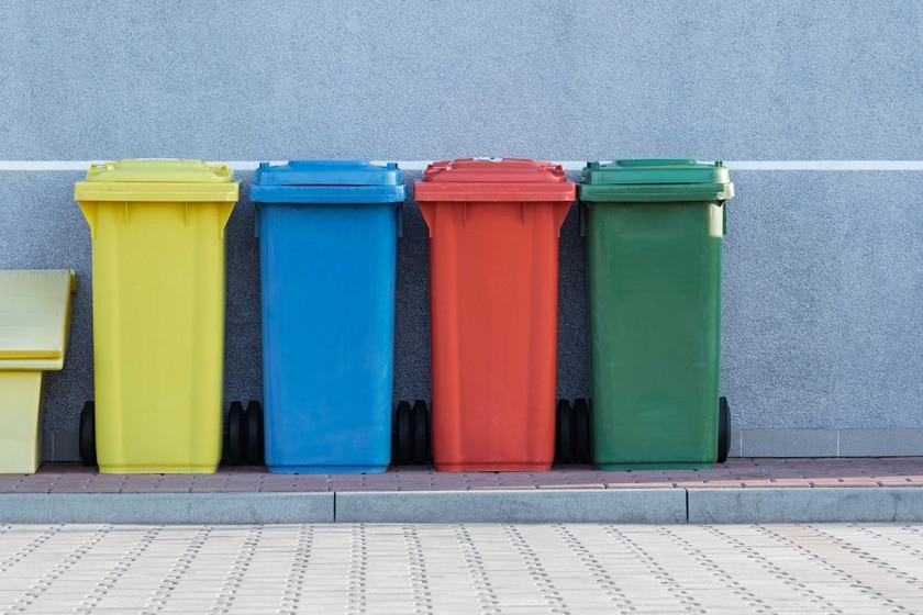 Mülltrennung im Haushalt