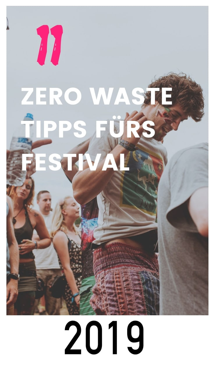 Festival Besuch Zero Waste plastikfrei müllfrei Leben ohne Plastik Nachhaltigkeit Dosen