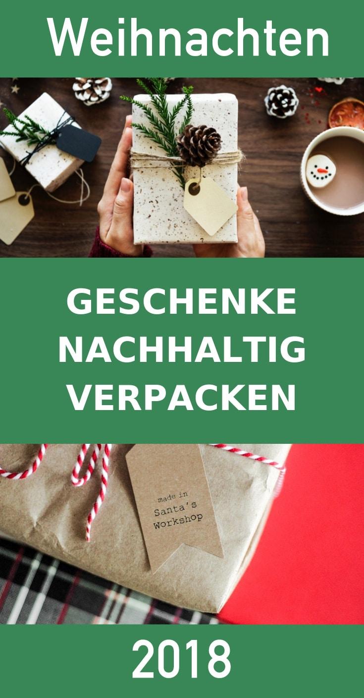 Geschenke Nachhaltig Verpacken Umweltfreundlich Papier Zeitungspapier