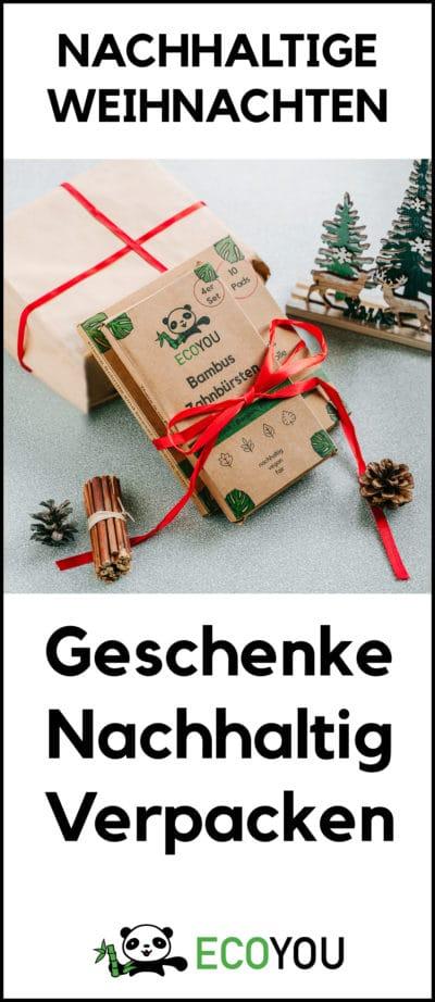 Geschenke Nachhaltig Verpacken Umweltfreundlich Papier Zeitungspapier ecoyou