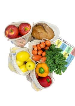 Gemüsebeutel EcoYou Zero Waste Plastikfrei Einkaufen ohne Plastik