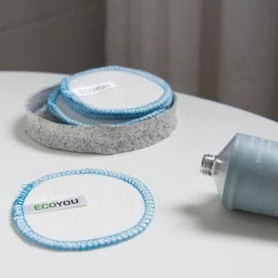 Zero Waste Bad Abschminken ohne Plastik Natürlich waschbare Abschminkpads EcoYou