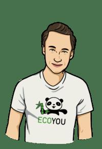Dennis von EcoYou - Blog für ein plastikfreies Leben - Leben ohne Plastik - Tipps und Tricks