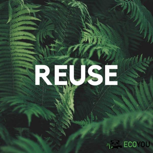 Reuse Refuse Ablehnen Zero Waste R Reduce Rethink Recycle Plastikfrei Leben ohne Plastik EcoYou Tipps Blog