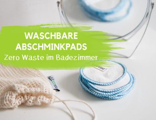 Waschbare Abschminkpads aus Baumwolle – Less Waste Tipps | EcoYou