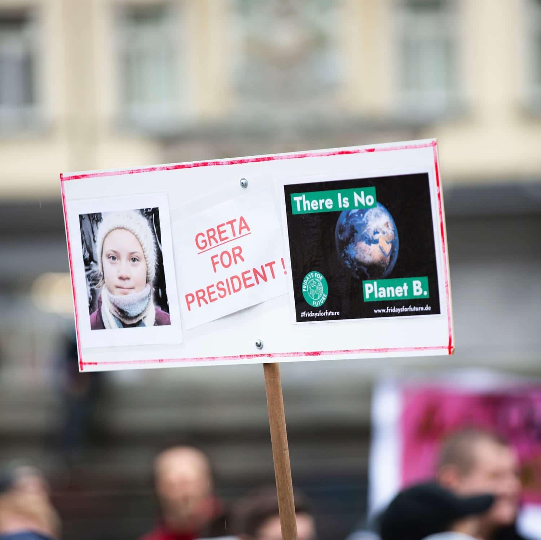 Fridays for Future Greta Thunberg Klimaschutz Demo Schüler Plastikfrei Leben ohne Plastik Nachhaltig