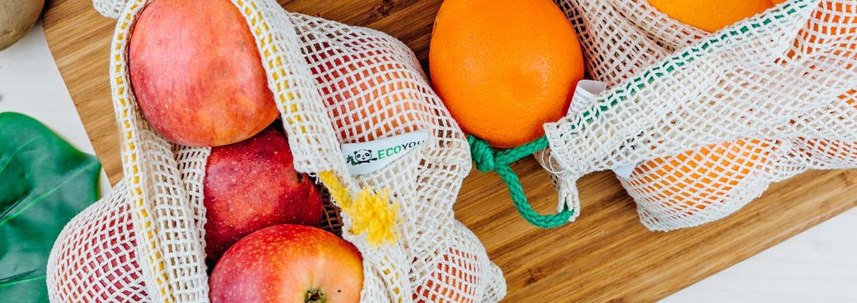 plastikfrei einkaufen obstbeutel gemüsebeutel gemüsenetz nachhhaltigkeit ecoyou