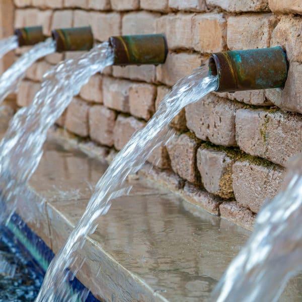 Wasser Brunnen Wiederverwendbare Trinkflasche nachhaltig plastikfrei EcoYou