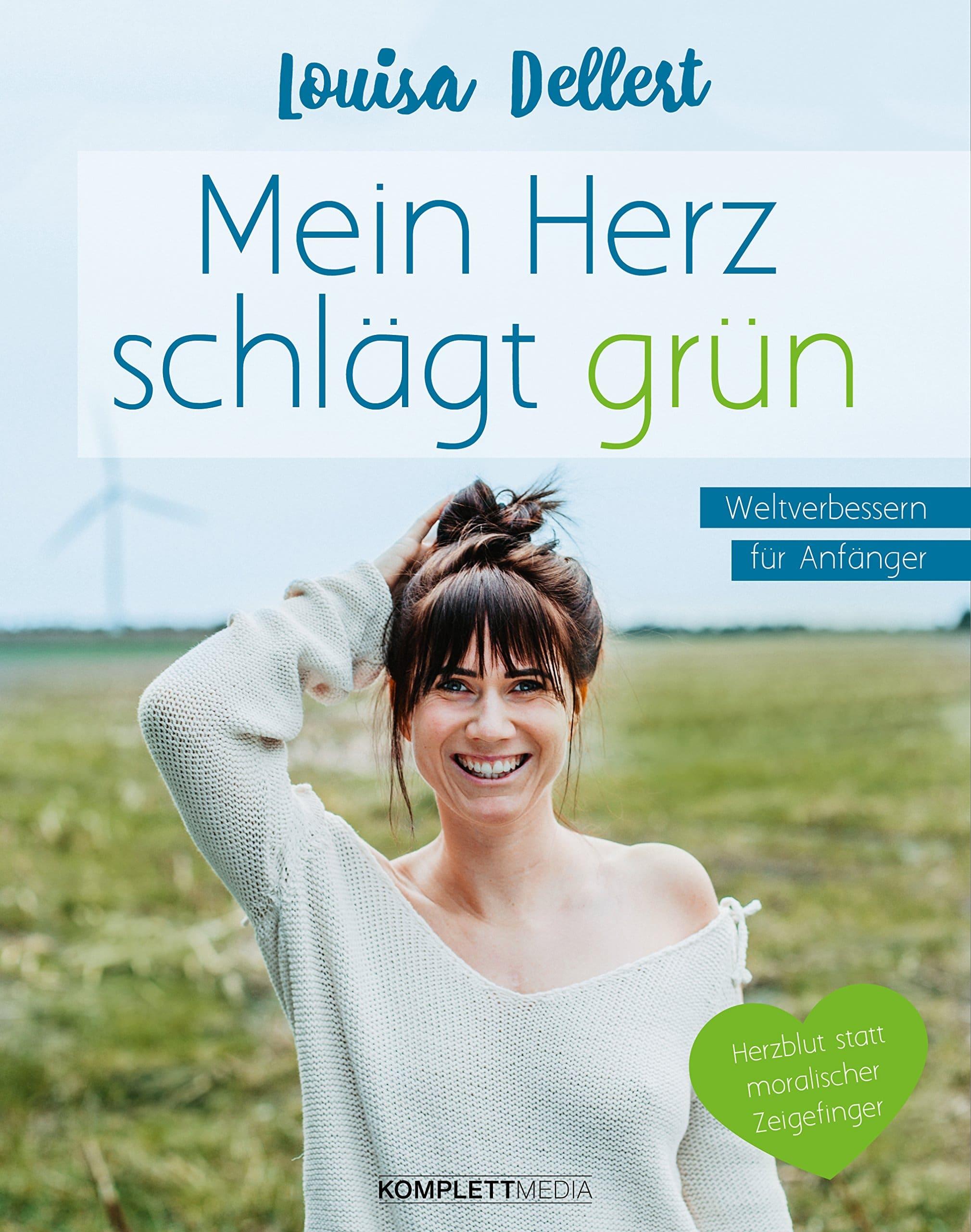 Nachhaltige Bücher Mein Herz schlägt grün Umweltschutz Tipps Plastikfrei Leben ohne Plastik Nachhaltigkeit