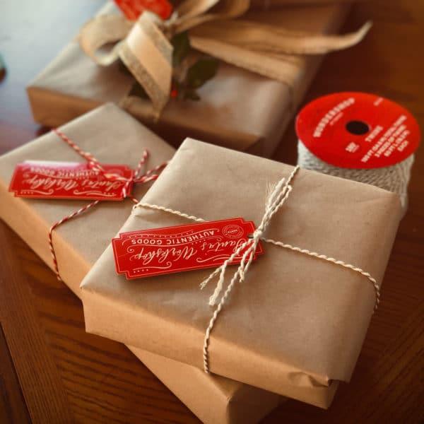 Backpapier als Geschenkverpackung nutzen