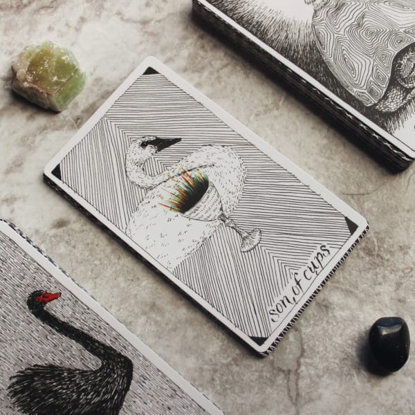 Kartenlegen statt Bleigießen