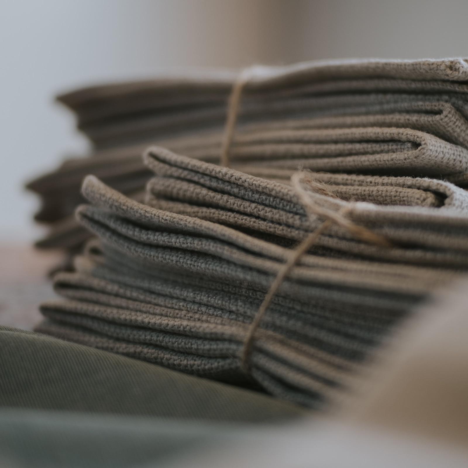Tücher zum Verpacken von Geschenke Nachhaltige Verpackung für Weihnachten