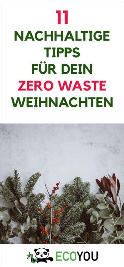 Zero Waste Weihnachts Tipps
