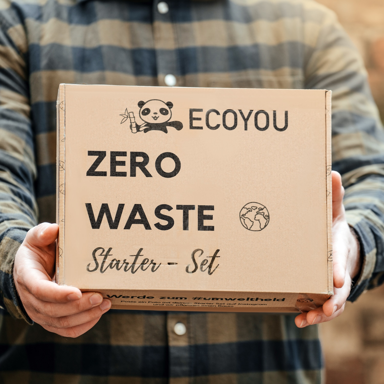 Nachhaltige Geschenke für Ihn - Zero Waste Starter Set für den Mann