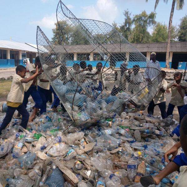 Projekt vor Ort plastik sammeln Ozeankind